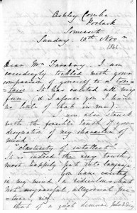 lovelace letter to Faraday finding ada site